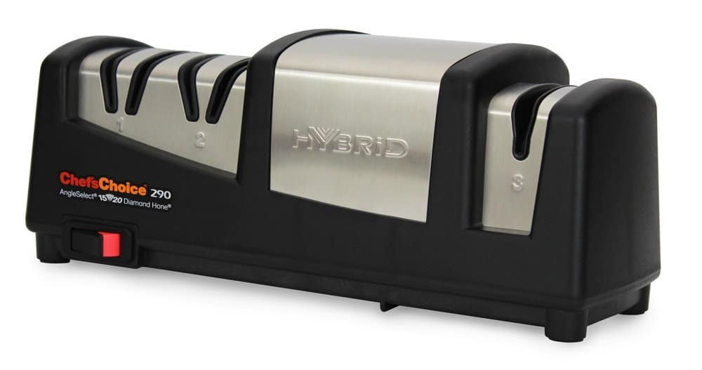 Chef's Choice 290 Hybrid AngelSelect 15/20 Diamond Hone Knife Sharpener