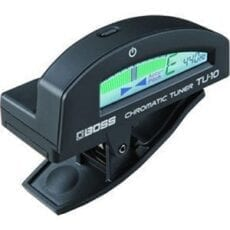 BOSS TU-10-BK Clip-On Chromatic Tuner