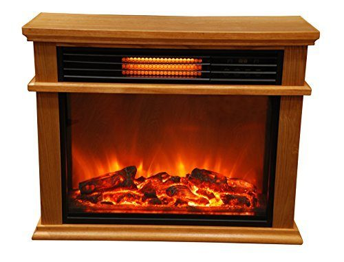 Lifesmart Easy Large Room Infrared Quartz Fireplace