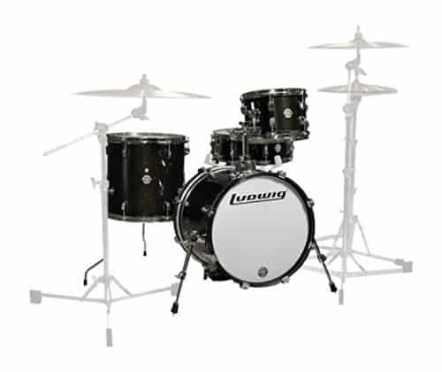 Ludwig LC179X016 Breakbeats 4 Piece Shell Pack with Rise