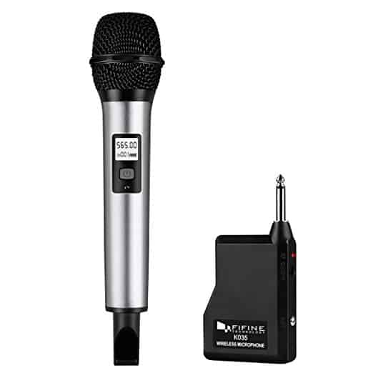 Fifine 20 Channel UHF Handheld Wireless Microphone