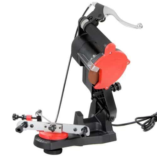 XtremepowerUS 85W Mini Electric Chainsaw Grinder Sharpener w/ Brake