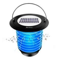 Redeo Solar Bug Zapper Fly Trap and Garden Lamp Night Light