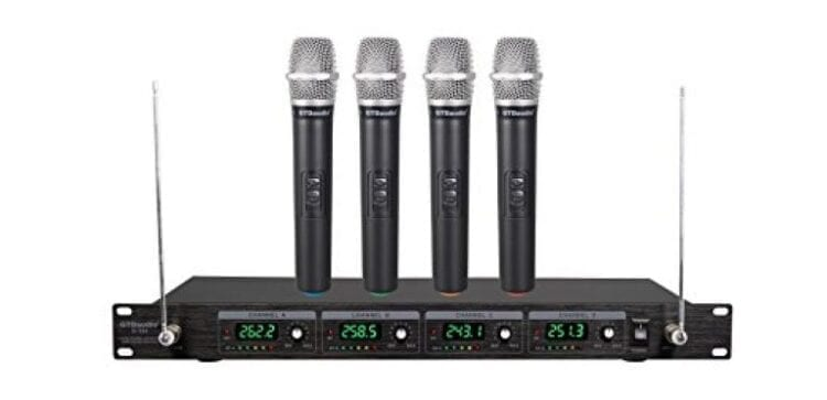 GTD Audio G-380H VHF Wireless Microphone System