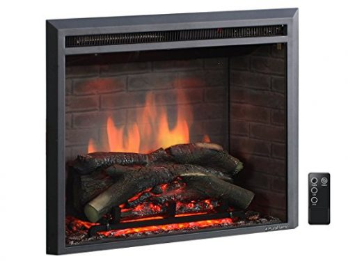 PuraFlame 26″ Western Electric Fireplace Insert with Remote Control