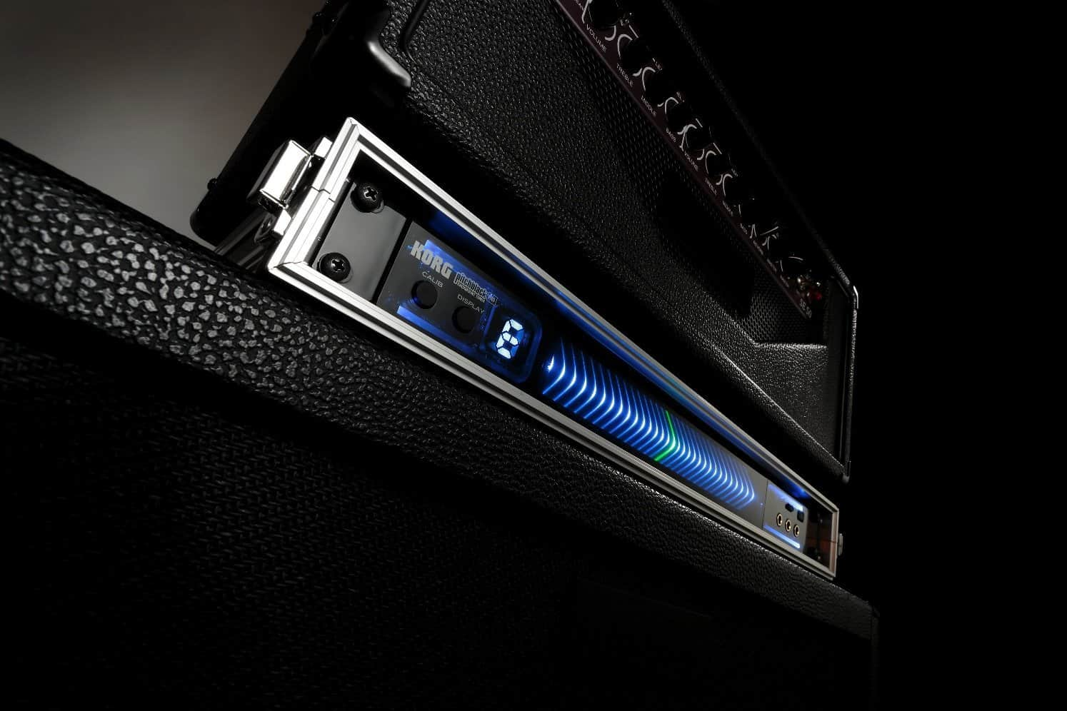 Korg PB05 Pitchblack Pro 1U Rackmount Guitar and Bass Tuner