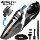 WELIKERA 12V 100W Hand-held Cordless Vacuum Cleaner