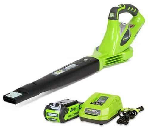 Greenworks 40V 150 MPH Variable Speed Cordless Blower, 0 AH Battery Included 24252