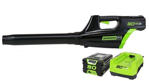 Greenworks PRO 80V 125 MPH – 500 CFM Cordless Blower