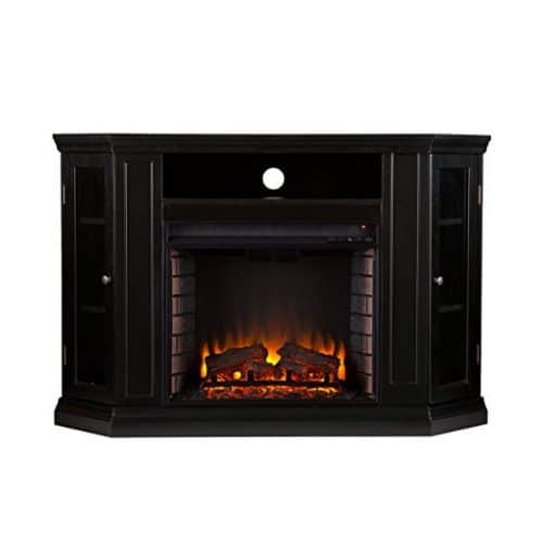 Southern Enterprises Claremont Convertible Media Electric Fireplace