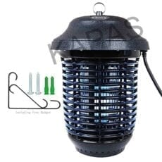 Electric Outdoor Bug Killer Lantern for Mosquitoes, Flies, Gnats, Pests & Other Insects