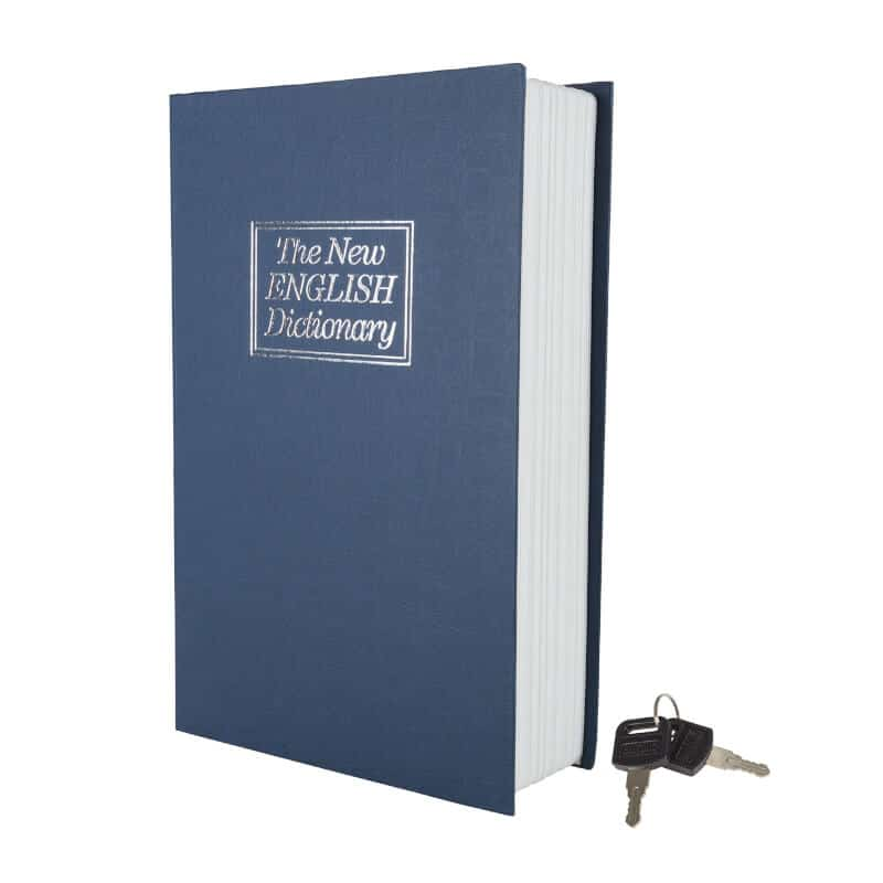 Dictionary Book Safe with Combination Lock