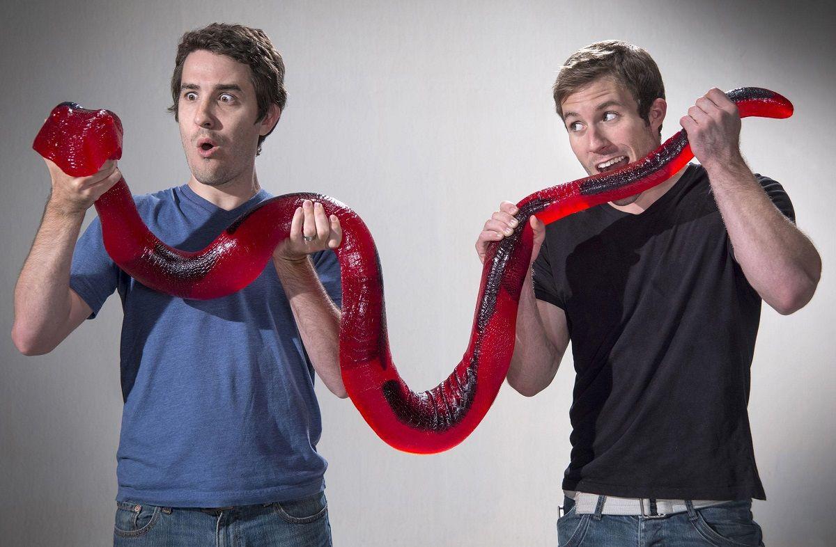 Giant Gummy Python