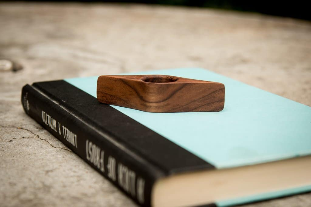 Handmade Wooden Page Holder