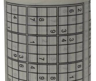 Sudoku Puzzle Toilet Paper