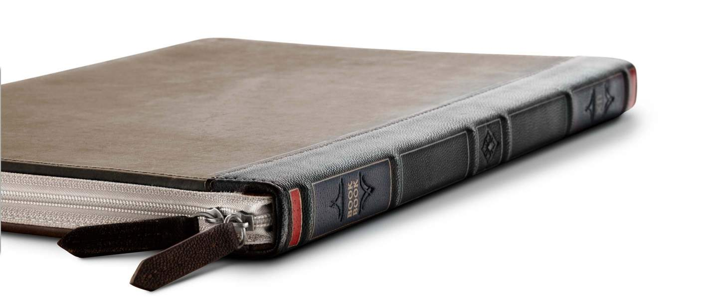 Leather Book Sleeve for MacBook