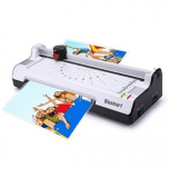 3 in 1 Blusmart BL01 Laminator Set Machine with Rotary Paper Trimmer & Cutter & Corner Rounder Thermal and Cold Laminating