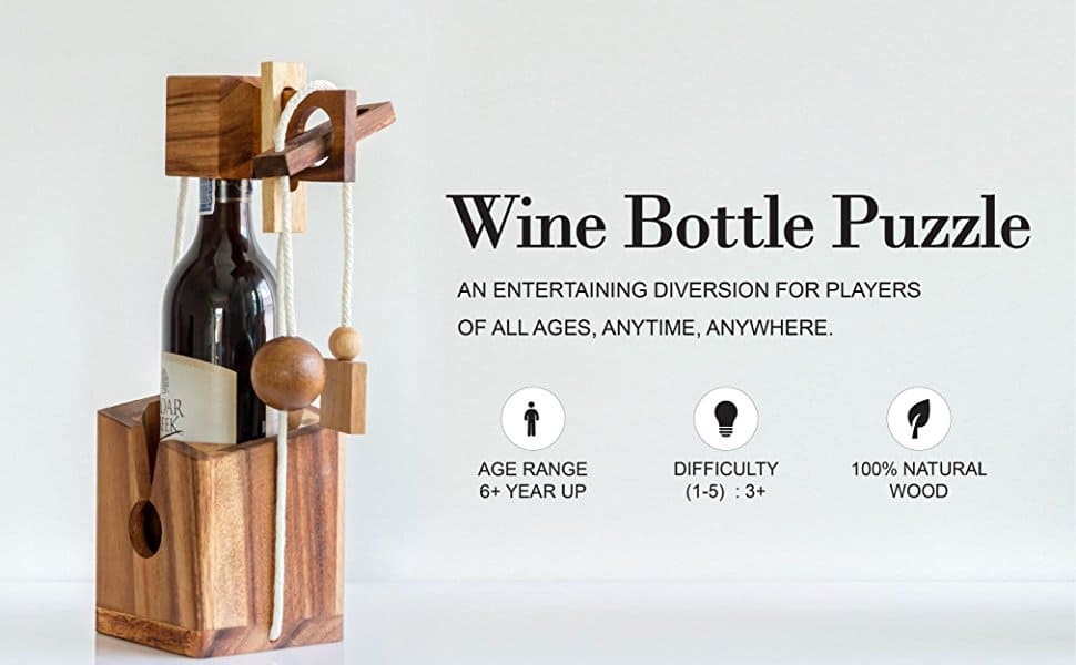 Wine Bottle Brainteaser