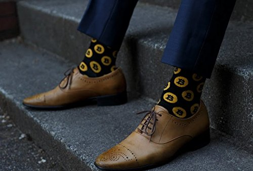 Bitcoin Men's Socks