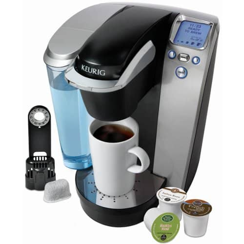 Keurig K75 Single-Cup Home-Brewing System with Water Filter Kit