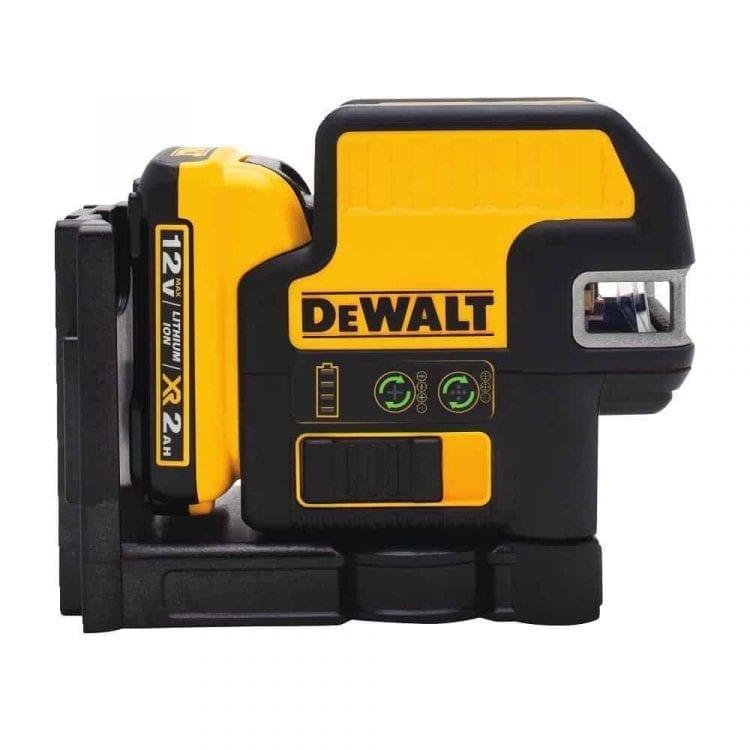DEWALT DW0825LG 12V 5 Spot + Cross Line Laser