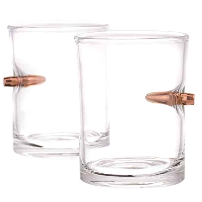 .308 Bullet Whiskey Glass Set