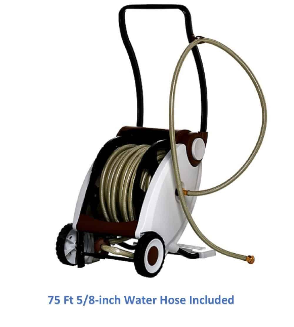 Garden Power Foot Crank Powered Hose Reel