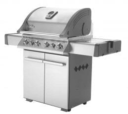 Napoleon Grills with Infrared Side & Rear Burners Natural Gas Grill