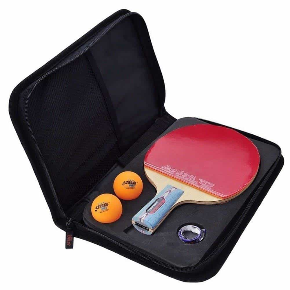 DHS HURRICANE-I Tournament Table Tennis Racket Set, Ping Pong Paddle
