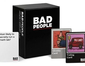 Bad People Party Game + Expansion