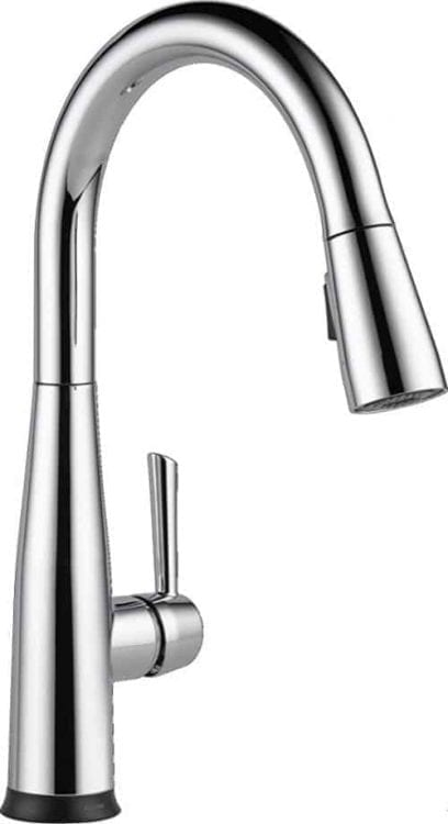 Delta Faucet 9113T-DST Essa Single Handle Pull-Down Kitchen Faucet with Touch2O Technology and Magnetic Docking, Chrome