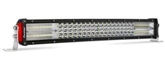LED Light Bar Curved, Autofeel 22 inch 256W Quad Row Driving Lights