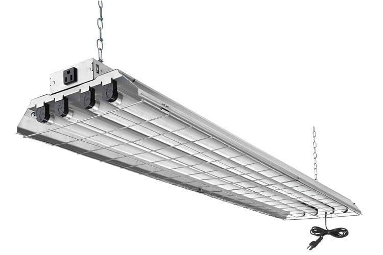 Lithonia Lighting 1284GRD RE 4-Light Heavy Duty Shoplight