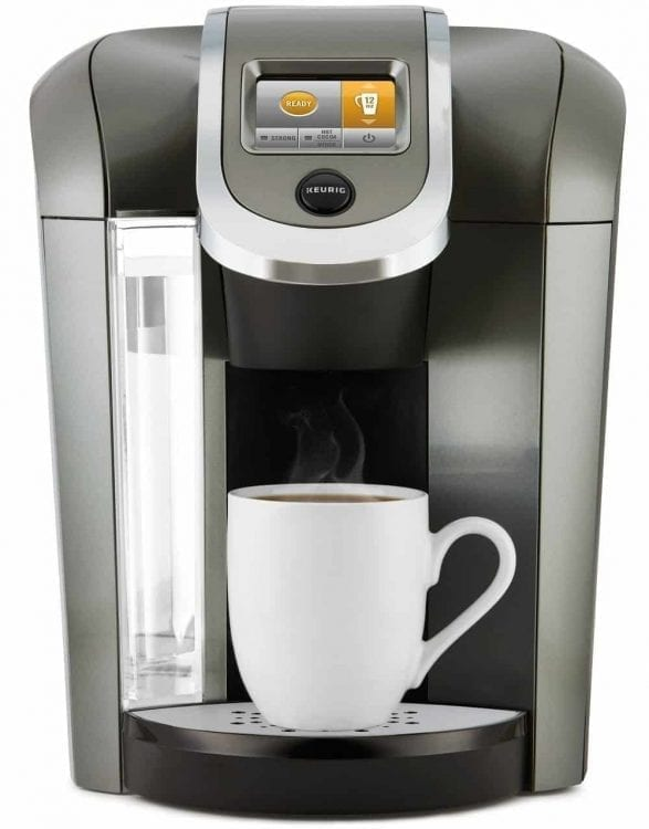 Keurig K250 Single Serve, K-Cup Pod Coffee Maker with Strength Control