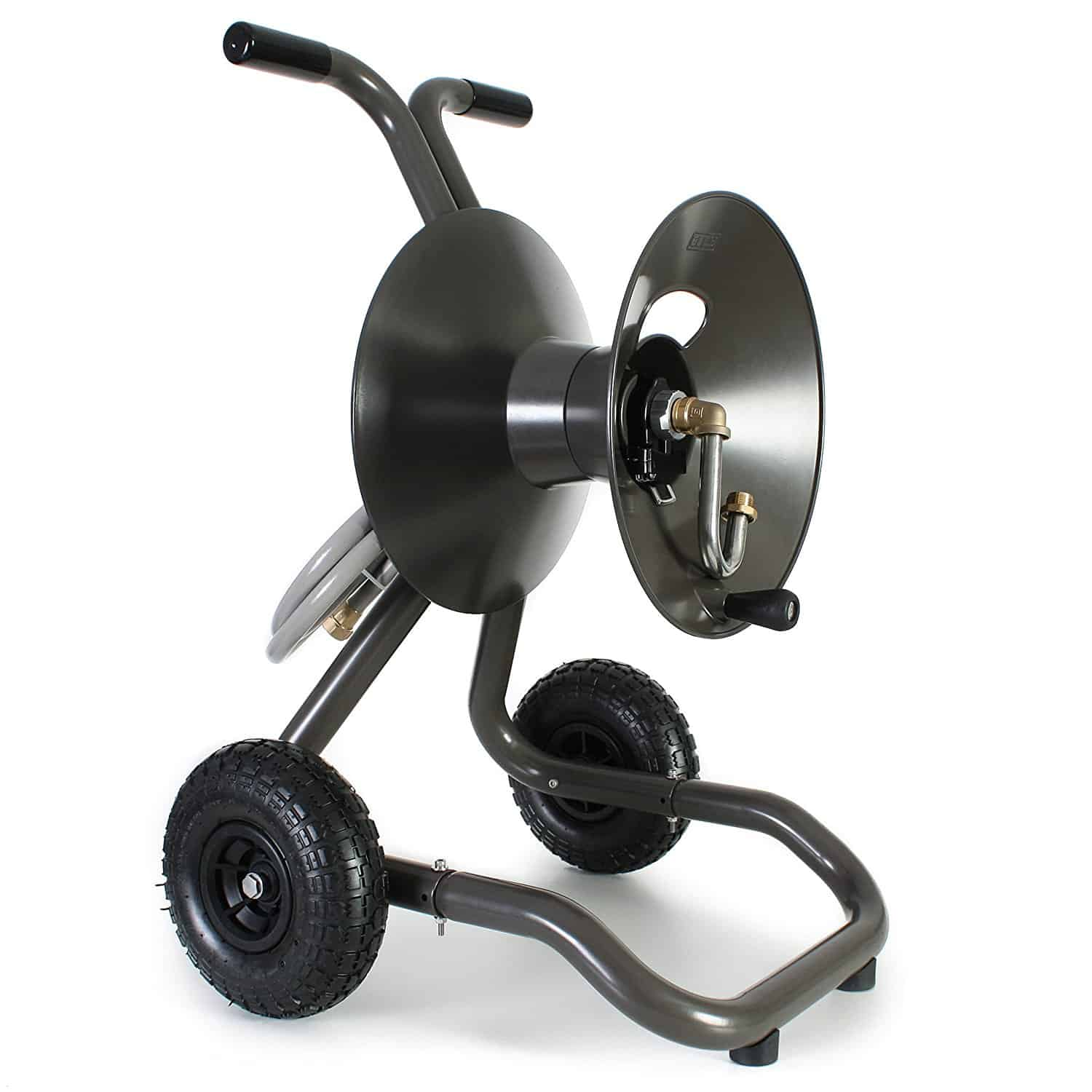 Eley/Rapid Reel Portable Garden Hose Reel Cart