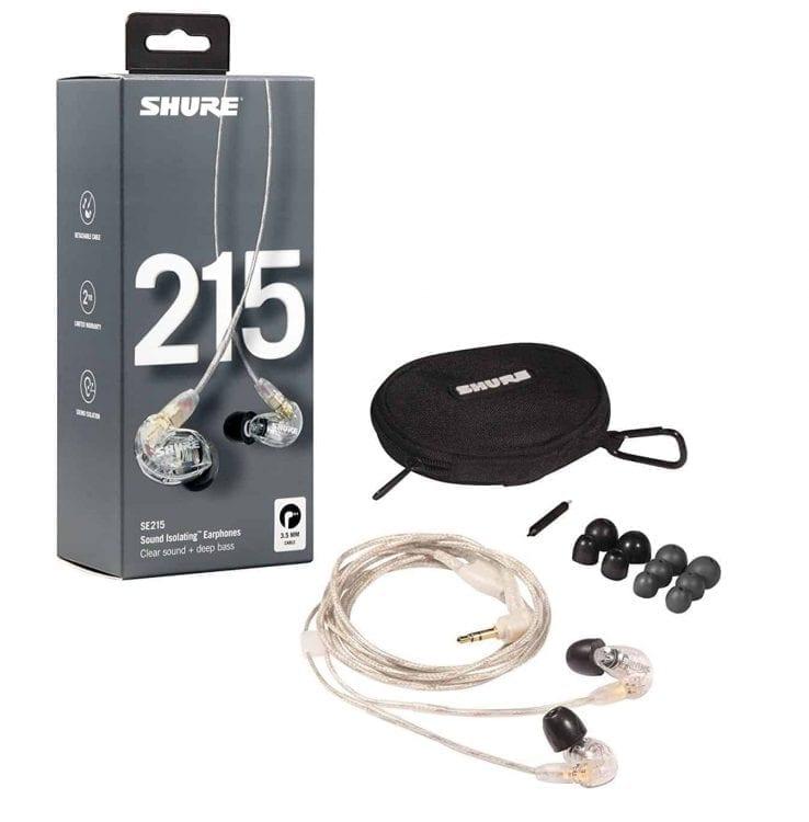 Shure SE215-CL Sound Isolating Earphones