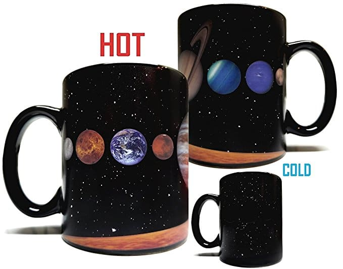 Solar System Heat Sensitive Mug