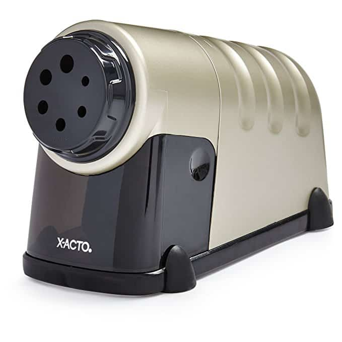 X-ACTO High Volume Commercial Electric Pencil Sharpener, Model 41, Beige