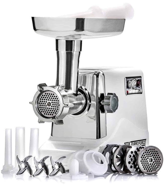 STX International STX-3000-TF Turboforce – Electric Meat Grinder & Sausage Stuffer