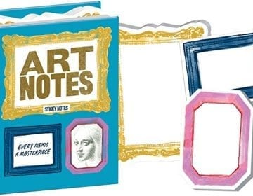 Art Notes Sticky Booklet