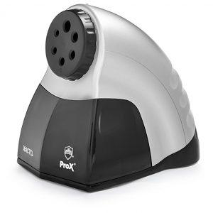 X-ACTO ProX Classroom Electric Pencil Sharpener, Silver/Black