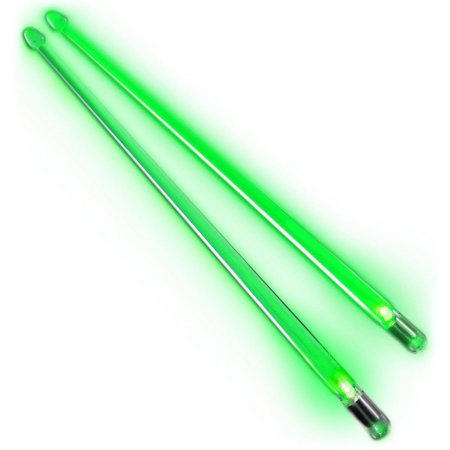 ROCKSTIX 2 HD BLUE, BRIGHT LED LIGHT UP DRUMSTICKS