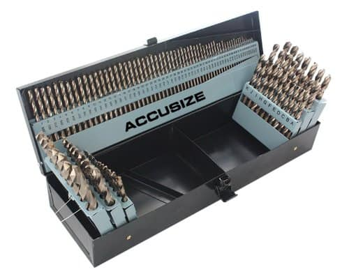 Accusize Tools – M35 HSS+5% Cobalt Premium 115 Pcs Drill Set