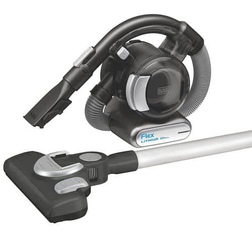 BLACK+DECKER BDH2020FLFH MAX Lithium Flex Vacuum with Stick Vacuum Floor Head and Pet Hair Brush