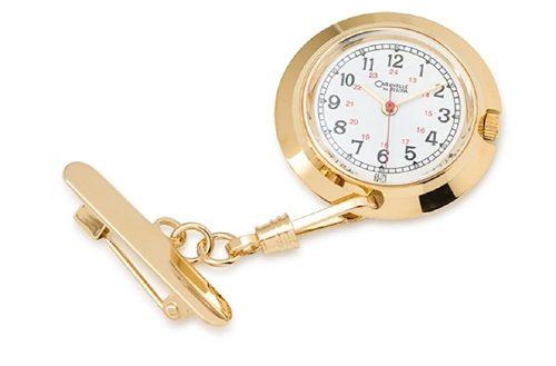 Caravelle By Bulova Nurse's Lapel Pin Watch