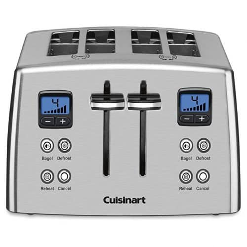 Cuisinart CPT-435C 4-Slice Countdown Metal Toaster – Stainless Steel