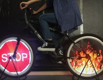 Programmable Bicycle Spokes Lights