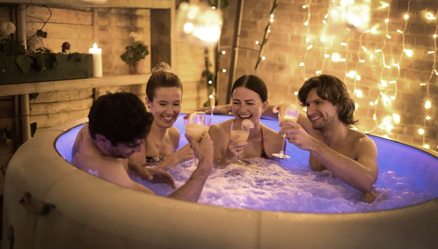 6 Soothing Inflatable Hot Tubs Reviews — Soak and Relax in 2018