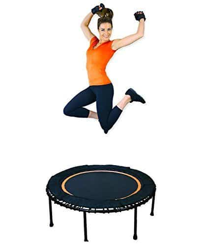 Leaps & Rebounds Bungee Rebounder – In-Home Mini Trampoline