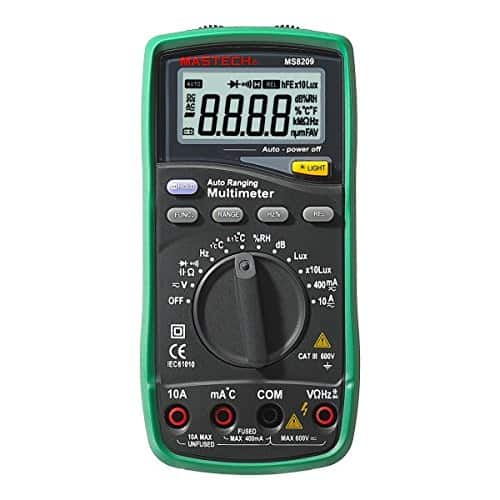 Mastech MS8209 5 in 1 Multimeter with Environmental Tester + Multi-Function DMM